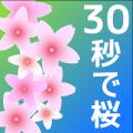 Illustrator30秒で桜を描く
